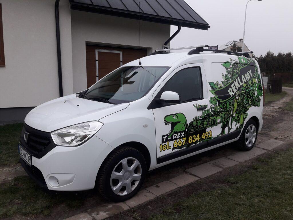 T-REX drukarnia agencja reklamowa, oklejanie pojazdów